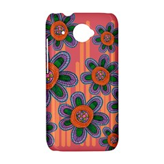 Colorful Floral Dream HTC Desire 601 Hardshell Case
