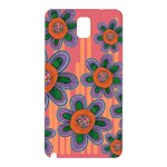 Colorful Floral Dream Samsung Galaxy Note 3 N9005 Hardshell Back Case Front