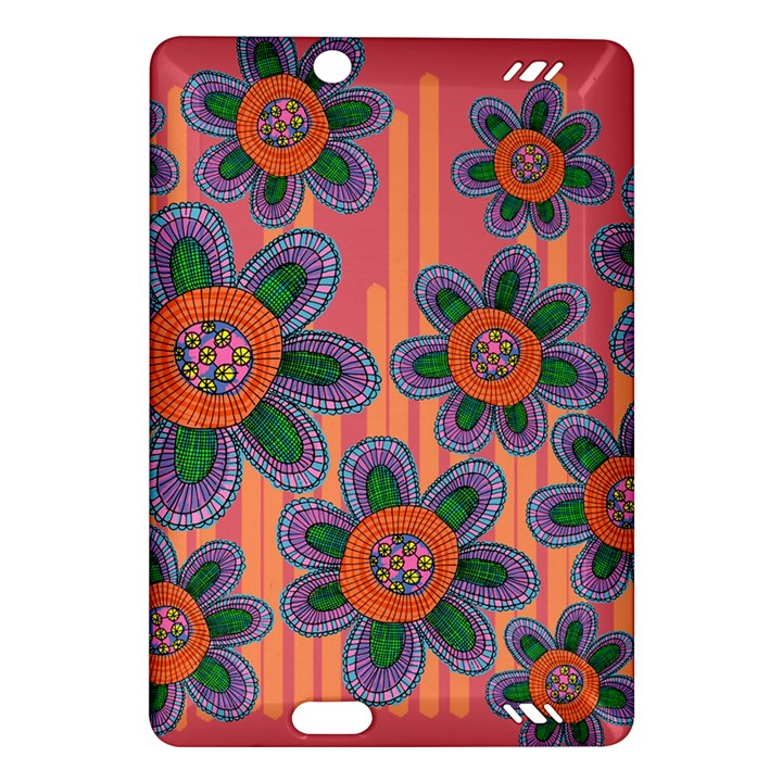 Colorful Floral Dream Amazon Kindle Fire HD (2013) Hardshell Case