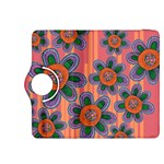 Colorful Floral Dream Kindle Fire HDX 8.9  Flip 360 Case Front