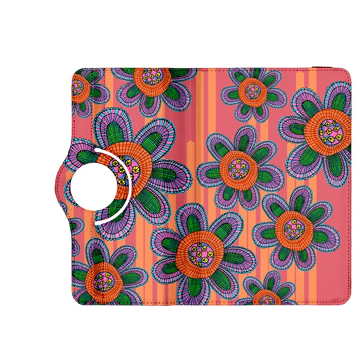 Colorful Floral Dream Kindle Fire HDX 8.9  Flip 360 Case