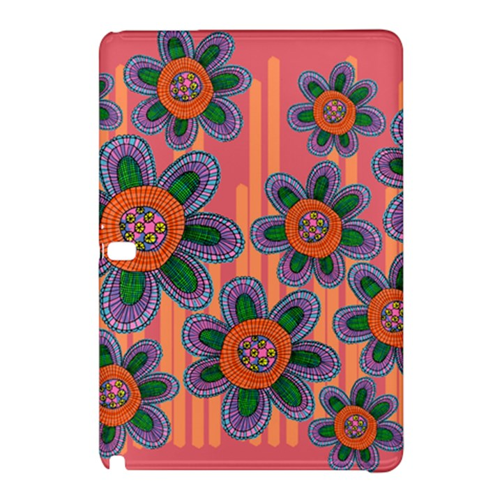 Colorful Floral Dream Samsung Galaxy Tab Pro 12.2 Hardshell Case