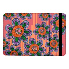 Colorful Floral Dream Samsung Galaxy Tab Pro 10 1  Flip Case