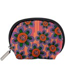 Colorful Floral Dream Accessory Pouches (Small)  Front