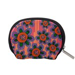 Colorful Floral Dream Accessory Pouches (Small)  Back
