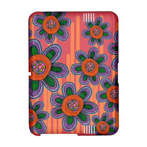 Colorful Floral Dream Amazon Kindle Fire (2012) Hardshell Case