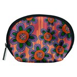 Colorful Floral Dream Accessory Pouches (Medium)  Front