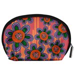 Colorful Floral Dream Accessory Pouches (Large)  Back