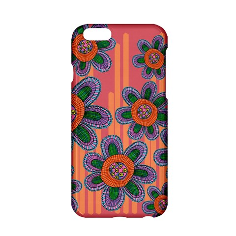 Colorful Floral Dream Apple iPhone 6/6S Hardshell Case