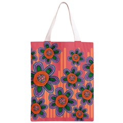 Colorful Floral Dream Classic Light Tote Bag