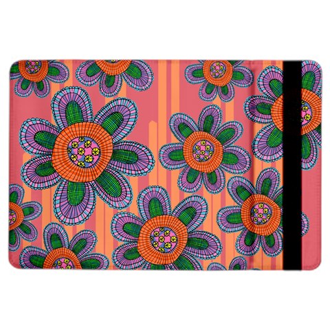 Colorful Floral Dream iPad Air 2 Flip