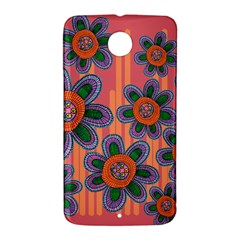 Colorful Floral Dream Nexus 6 Case (White)