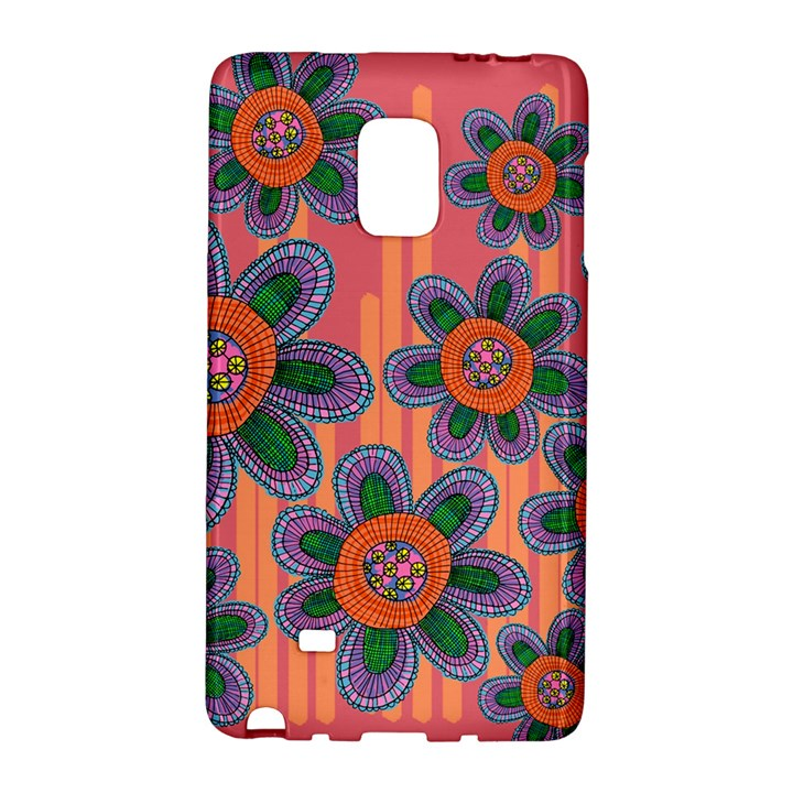 Colorful Floral Dream Galaxy Note Edge