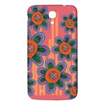 Colorful Floral Dream Samsung Galaxy Mega I9200 Hardshell Back Case Front