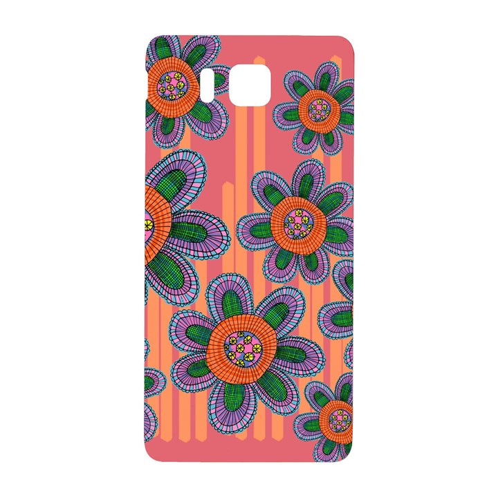 Colorful Floral Dream Samsung Galaxy Alpha Hardshell Back Case