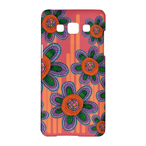 Colorful Floral Dream Samsung Galaxy A5 Hardshell Case