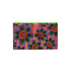 Colorful Floral Dream Cosmetic Bag (XS)