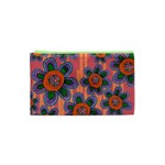 Colorful Floral Dream Cosmetic Bag (XS) Front
