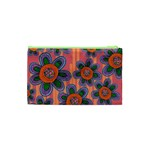 Colorful Floral Dream Cosmetic Bag (XS) Back