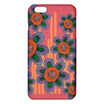 Colorful Floral Dream iPhone 6 Plus/6S Plus TPU Case Front