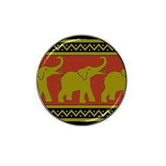 Elephant Pattern Hat Clip Ball Marker (10 pack)