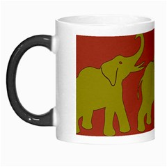 Elephant Pattern Morph Mugs