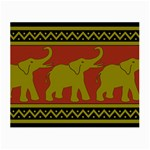 Elephant Pattern Small Glasses Cloth Front