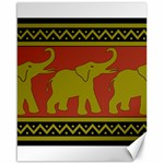 Elephant Pattern Canvas 16  x 20   20 x16 Canvas - 1