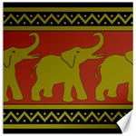 Elephant Pattern Canvas 20  x 20   20 x20 Canvas - 1
