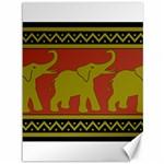 Elephant Pattern Canvas 36  x 48   48 x36 Canvas - 1