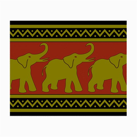 Elephant Pattern Small Glasses Cloth (2-Side)