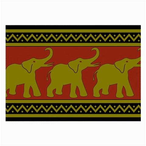 Elephant Pattern Large Glasses Cloth