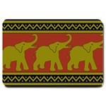 Elephant Pattern Large Doormat  30 x20 Door Mat - 1