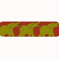 Elephant Pattern Large Bar Mats