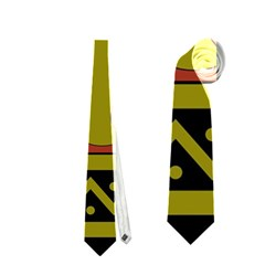 Elephant Pattern Neckties (Two Side)