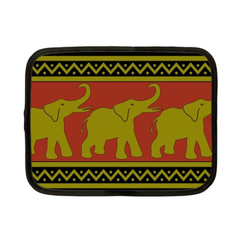 Elephant Pattern Netbook Case (Small)