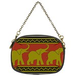 Elephant Pattern Chain Purses (One Side)  Front