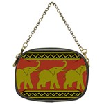 Elephant Pattern Chain Purses (Two Sides)  Front