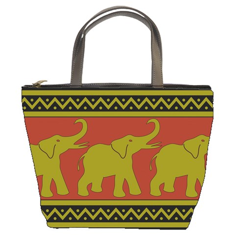 Elephant Pattern Bucket Bags