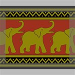Elephant Pattern Canvas 10  x 8  10  x 8  x 0.875  Stretched Canvas