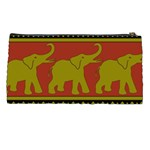 Elephant Pattern Pencil Cases Back