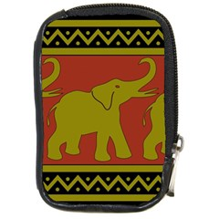 Elephant Pattern Compact Camera Cases