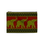 Elephant Pattern Cosmetic Bag (Medium)  Front