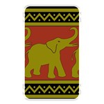Elephant Pattern Memory Card Reader Front