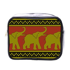 Elephant Pattern Mini Toiletries Bags