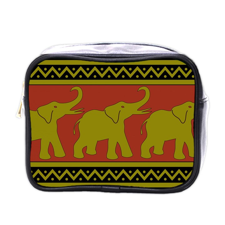 Elephant Pattern Mini Toiletries Bags