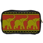 Elephant Pattern Toiletries Bags Front
