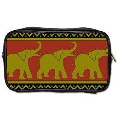 Elephant Pattern Toiletries Bags 2-Side