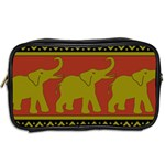 Elephant Pattern Toiletries Bags 2-Side Back