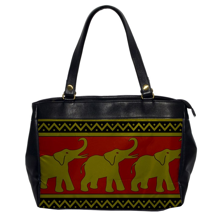 Elephant Pattern Office Handbags